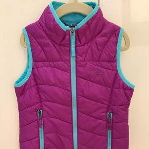 L.L. Bean Jackets & Coats - L.L.Bean Girls' Puff-n-Stuff Vest